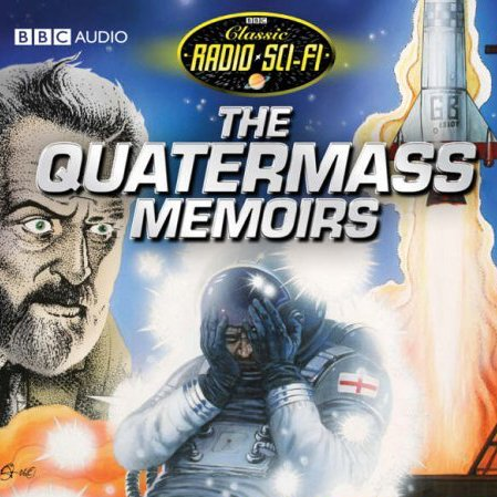 The Quatermass Memoirs audiobook cover art