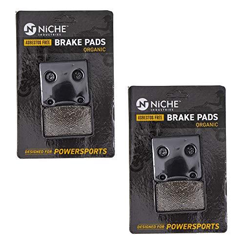 NICHE Brake Pad Set for Suzuki Intruder 800 1400 1500 750 Cavalcade 59100-38820 Front Rear Organic 2 Pack