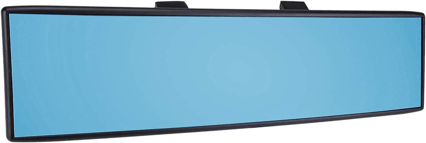 El Tama/ño Del Espejo Retrovisor Es de 11,8 X Azul MagiDeal 300 Mm Universal Car Interior Antideslumbrante Vista Trasera Espejo Retrovisor Gran Angular Panor/ámico