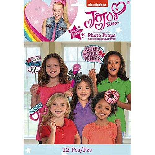 Props JoJo Siwa Pink Photo Set (12pc)