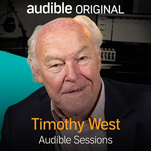Timothy West audiobook cover art