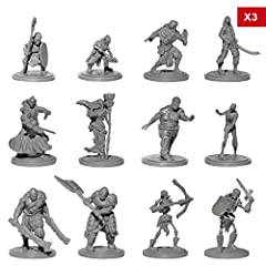 🛡 ⚔️ BRING YOUR CAMPAIGNS TO LIFE - Become immersed in your role-playing game with this epic set of 36 highly-detailed and realistic enemy minion miniatures. 🛡⚔️ DURABLE, 100% RECYCLABLE PLASTIC ♻️ - The models are strong enough to withstand hours up...