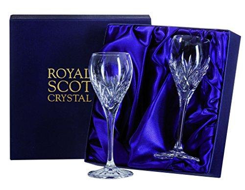 Royal Scot Highland Port/Sherry-Gläser, in Geschenkbox, 2 Stück