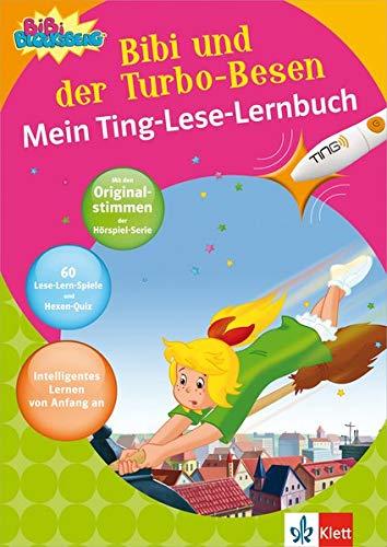 Bibi BLocksberg - Bibi und der Turbo-Besen - Mein TING-Lese-Lernbuch: Mein Ting-Lese-Lernbuch. Lesen lernen ab 5 Jahren