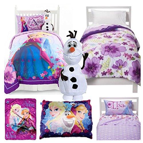 Disney Frozen Celebrate Love Ultimate 7 Piece Twin Bed in a Bag