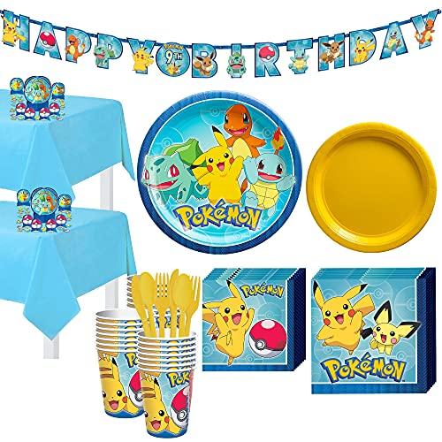 Pokémon Birthday Party Supplies