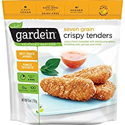 Gardein Seven Grain Crispy Tenders, Meatless Protein Packed Strips, 9 oz (Frozen)