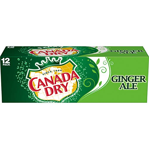 Canada Dry Ginger Ale - Paquete de 12 x 355 ml - Total: 4260 ml