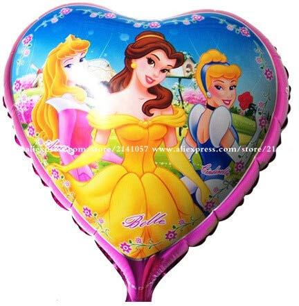 Fantastic Deal! Utini 50pcs/lot 18 inch Three Princess Mylar Balloons Helium foil Ballons for Birthd...