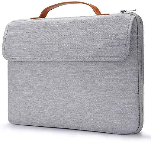 GVDV 13.3 Inch Laptop Sleeve Case with Handle 13 MacBook Pro Surface Laptop Waterproof Shockproof Laptop Case Bag Briefcase Compatible Macbook Air//Pro Black
