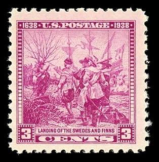 US 1938 Swedish-Finnish Tercentenary, Single Postage Stamp, 836