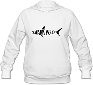 Shark Week Joke 100% Cotton Long Sleeve Hoodies For Girls