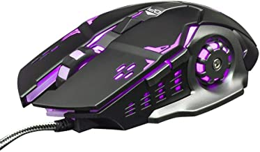 Gamer Mice, IMAGE E-Blue Wireless Optical Gaming Mouse 2.4GHz Mazer II 2500 DPI Blue LED Backlit For PC MAC Laptops