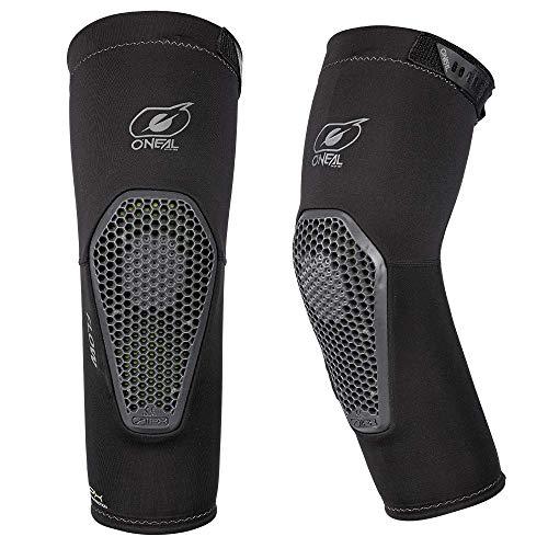 O\'NEAL | Ellbogenprotektor | MTB Mountainbike Enduro | IPX® Softgel-Schutz, Belüftungsöffnung an der Rückseite, Perfekt für ganztägiges Fahren | Flow Elbow Guard | Erwachsene | Grau | Größe L