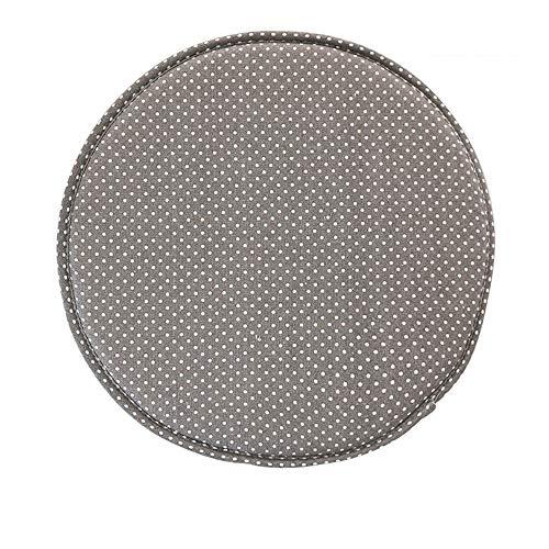100% Algodón Y Lino Antideslizante Cojines para Silla Set De 4 Transpirable Suave Cojín para El Suelo Grueso Cojines De Asiento Redondos 40cm para Cocina Terraza Jardin Etc