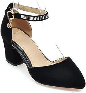 Chunky Block Heel Dress Sandal Over Toe & Ankle Wrap Strap, high Heels