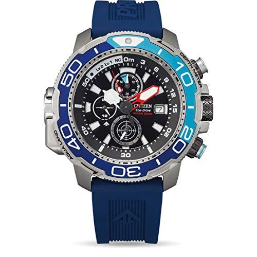 Citizen Promaster Marine Herren-Taucheruhr Eco-Drive Blau BJ2169-08E