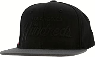 The Hundreds Team Snapback Cap (Black)