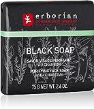 Erborian - Black Soap - Savon Visage Purifiant au Charbon - Soin du Visage - 75g