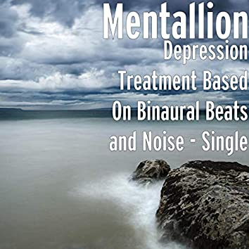 Depression Treatment Based on Binaural Beats and Noise