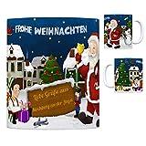 trendaffe - Kirchberg an der Jagst Weihnachtsmann Kaffeebecher