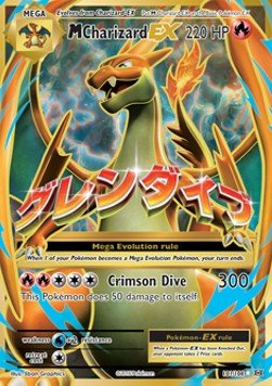 Pokémon - M Charizard EX 101/108 - Full Art - Evolutions