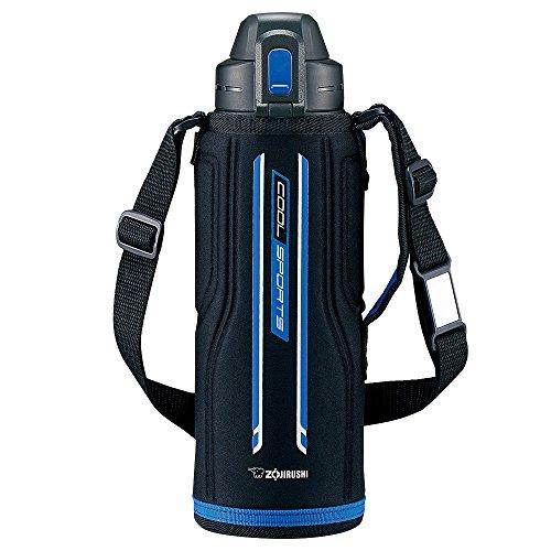 象印 ( ZOJIRUSHI ) 水筒 直飲み スポーツタイプ ステンレスクールボトル 1.03L ブルーブラック SD-EC10-BB