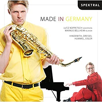 Hindemith, Hummel, Dressel & Eisler: Made in Germany