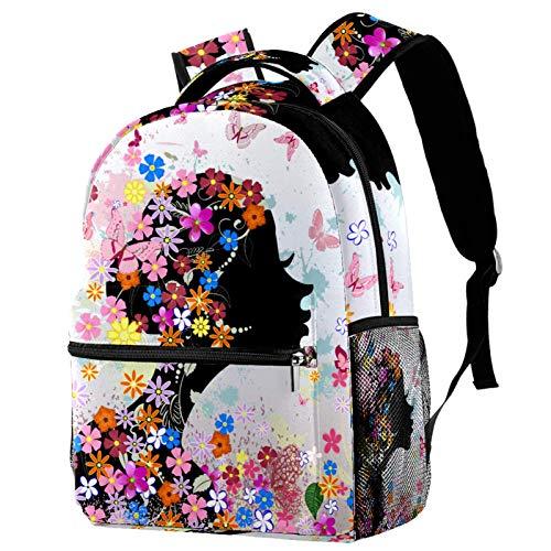 Doodle - Mochila colorida de pintura callejera para colegio, para senderismo, mochila de viaje para mujeres y hombres