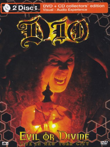 Dio - Evil or divine - Live in New York City(collectors' edition) (+CD)