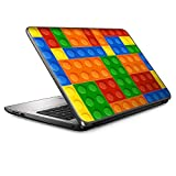 15 15.6 inch Laptop Notebook Skin Vinyl Sticker Cover Decal Fits 13.3' 14' 15.6' 16' HP Lenovo Apple Mac Dell Compaq Asus Acer/Toy Building Blocks Colorful Game Stackable Toys
