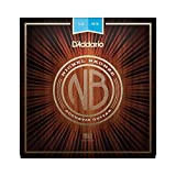 D'Addario NB1047 Corde de guitare acoustique Extra Light Nickel/bronze Pack of 1