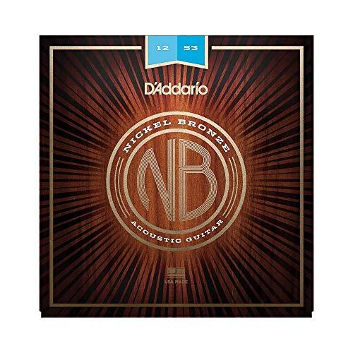 D'Addario NB1253 - Cuerdas para guitarra acústica (6