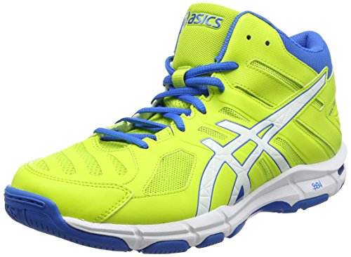 ASICS Herren Gel-Beyond 5 MT Gymnastikschuhe, Grün (Energy Green/White/Electric Blue), 46.5 EU
