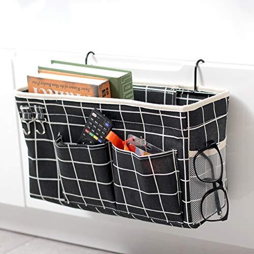 SDE - Organizador de almacenamiento para camas, mesita de noche de baloncesto, multifunción, para almacenamiento de PC, para camas, hospitales, dormitorios