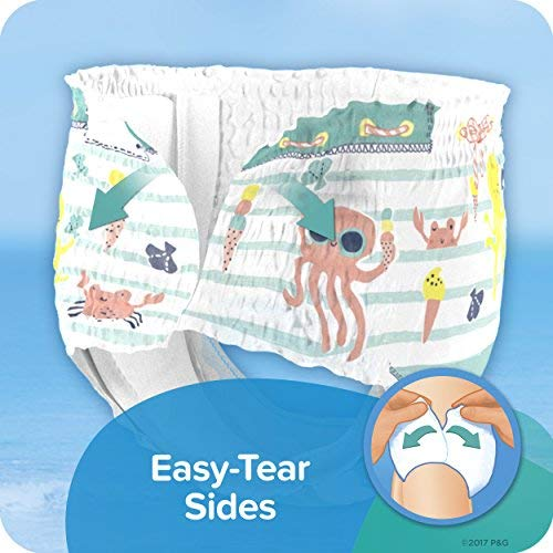 Swim Diapers Size 3 (13-24 Pound) - Pampers Splashers Disposable Swim Pants, Small (40 Count)