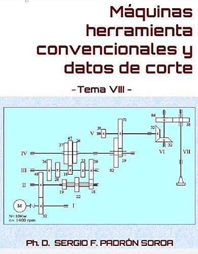Máquinas herramienta convencionales y datos de corte: Tema VIII