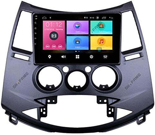 WYFWYT Android 9.0 Radio para Coche Estéreo para Mitsubishi Grandis 2003-2011 9 Pulgadas Pantalla táctil capacitiva Navegación GPS Bluetooth USB SWC WiFi Player,4g+WiFi 2g+32g
