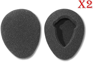Two Pairs of 80mm Foam Earpads fits Infrared Wireless Headphones in GM Ford Toyota Nissan Honda Automobile Entertainment DVD Player Systems