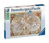 Ravensburger - 16381 - Puzzle - Mappemonde 1594 - 1500 Pièces