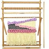 Weaving Loom Beech Wood Creative DIY Weaving Art 28'H x 20'W