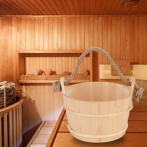 Harmless Sauna Holzfass, Dusche liefert Sauna Eimer, für die Familie zu Hause