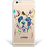 WoowCase Funda para iPhone 6 Plus   6S Plus Hybrid Perro Bulldog...