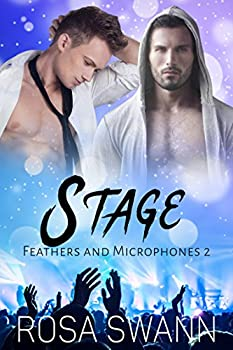 Stage  Feathers and Microphones 2   Gay Fallen Angel and Rock Star Romance