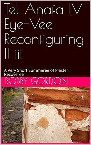 Tel Anafa IV Eye-Vee Reconfiguring II iii: A Very Short Summaree of Plaster Recoveree (English Edition)