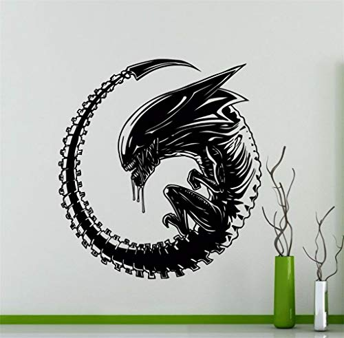 pegatina de pared pegatinas decorativas pared Alien Poster Predator 1979 Movie Xenomorph Sticker para el dormitorio de los niños sala de estar