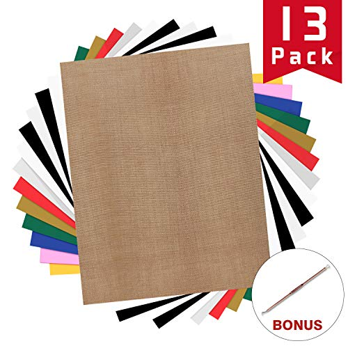 HTV Heat Transfer Vinyl Bundle: 13 Pack 12