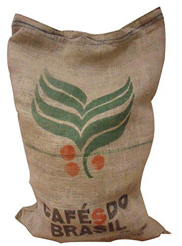 SABOREATE Y CAFE THE FLAVOUR SHOP Tela de Saco de Café de Origen Brasil Reutilizado para Tapizar de Yute Arpillera 100% Natural (70 cm x 1 metro)