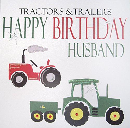 White Cotton Cards N 241,30 cm trekker & hanger Happy Birthday