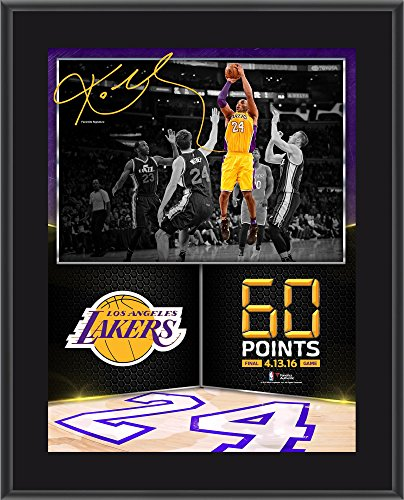 Kobe Bryant Los Angeles Lakers 10.5' x 13' 60 Point Finale Sublimated...